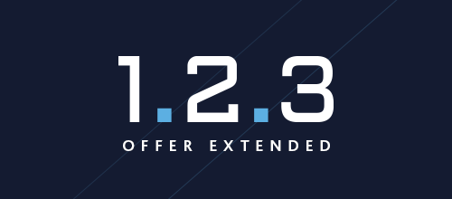 Offer has been extended to end of January!