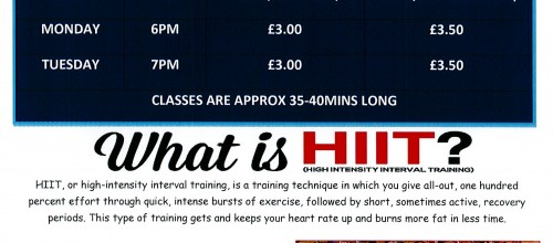 THE LATEST CLASS TO HIIT LOCK LANE