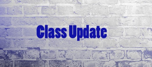 Latest news on our Classes