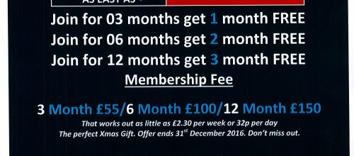 December Xmas Offer Now Available