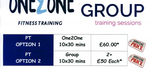 NEW YEAR PERSONAL TRAINING OFFER