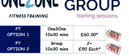 Short of Money? Time? 30 Minute PT & Small Group Sessions. Book Now